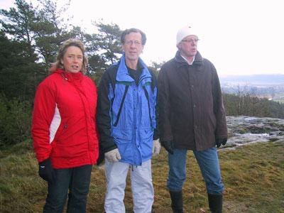 Annette & Runarna på Höråsaberget