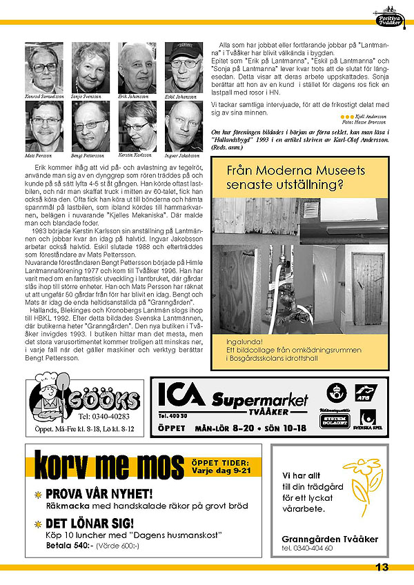 Tvååker-bladet Nr13 April 2009