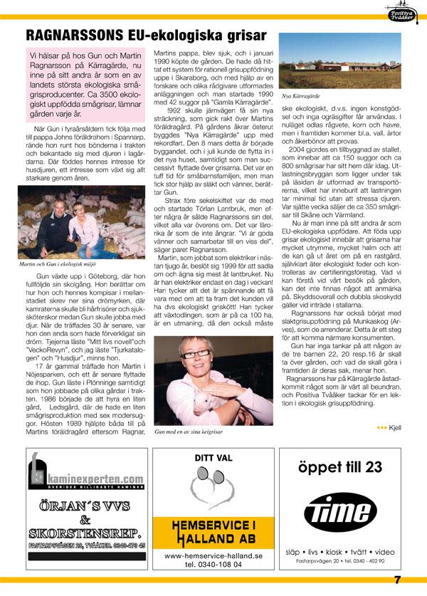 Tvååker-Bladet Nr14 - Nu i Färg